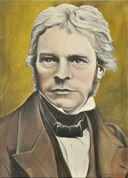 Michael Faraday, Gemälde